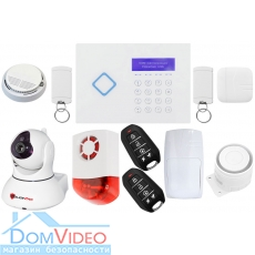 Комплект охранной сигнализации PoliceCam 66A Video Alarm Wally с wifi ip видеокамерой PC-5200