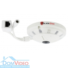 Панорамная IP камера 360 Fish Eye Рыбий глаз PoliceCam PC-339IP