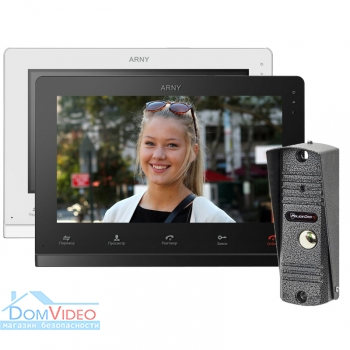 Картинка Комплект видеодомофона AVD-1025 AHD + Policecam PC-201 AHD 1MP