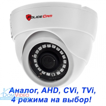 Картинка MHD видеокамера  PoliceCam PC-515 MHD 2MP 4in1
