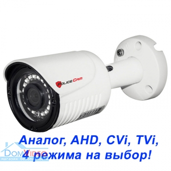 Картинка MHD видеокамера PC-512MHD 1MP 4 in 1 PoliceCam