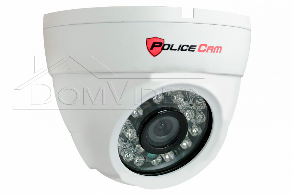 Картинка AHD видеокамера PC361AHD1.3MP Sony W PoliceCam