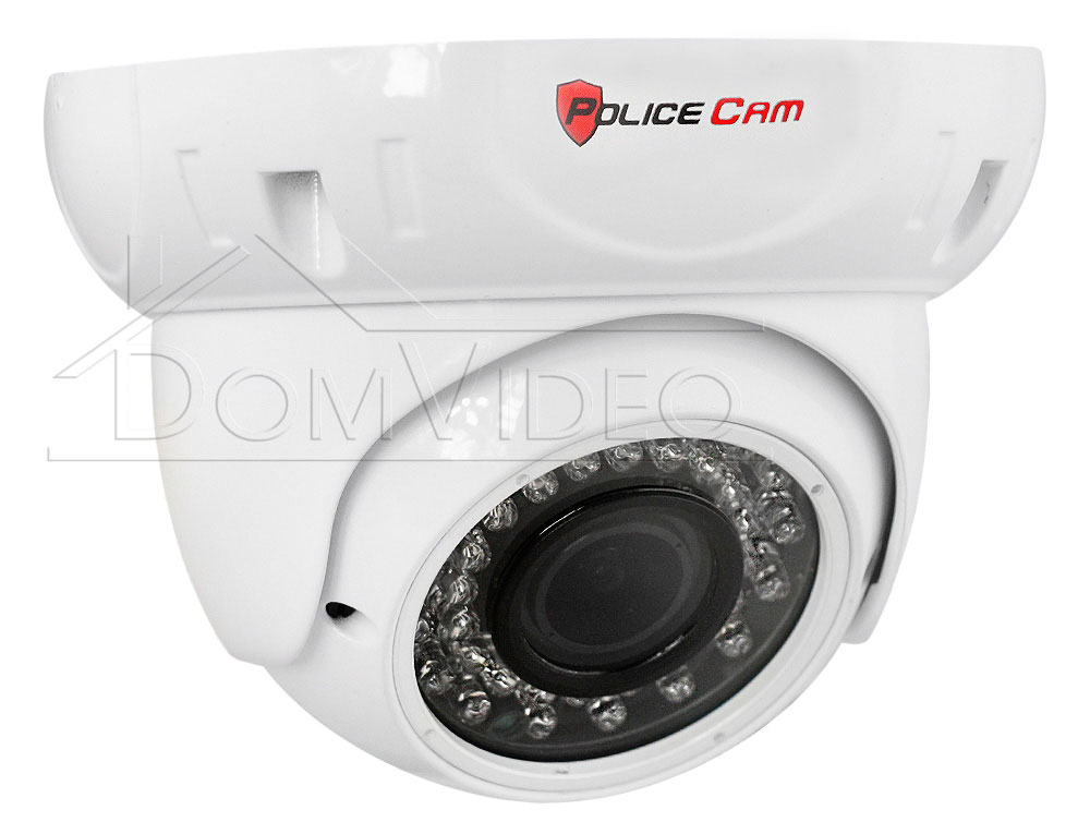 Картинка AHD видеокамера PC-312AHD 1.3MP PoliceCam